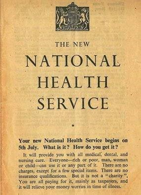 National Health Service 5th July 1948