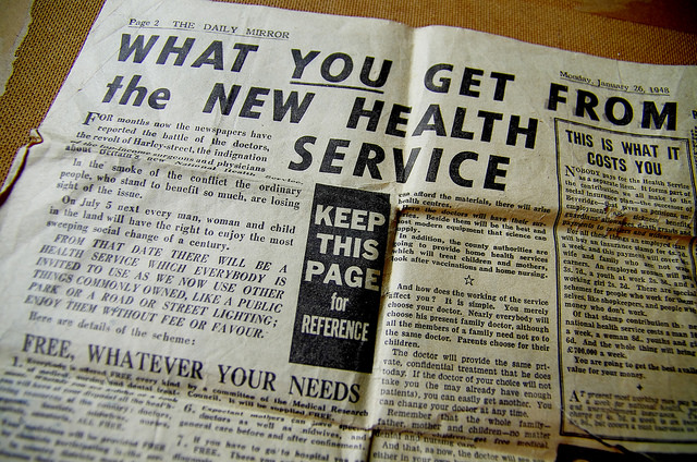 New NHS Service