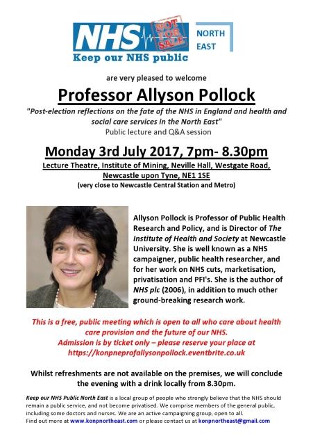 Prof Allyson Pollock public lecture-page0001