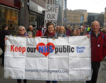 April 2016 NE March for the NHS 007