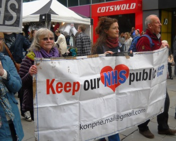 April 2016 NE March for the NHS 012