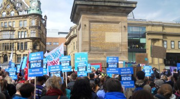 April 2016 NE March for the NHS 013