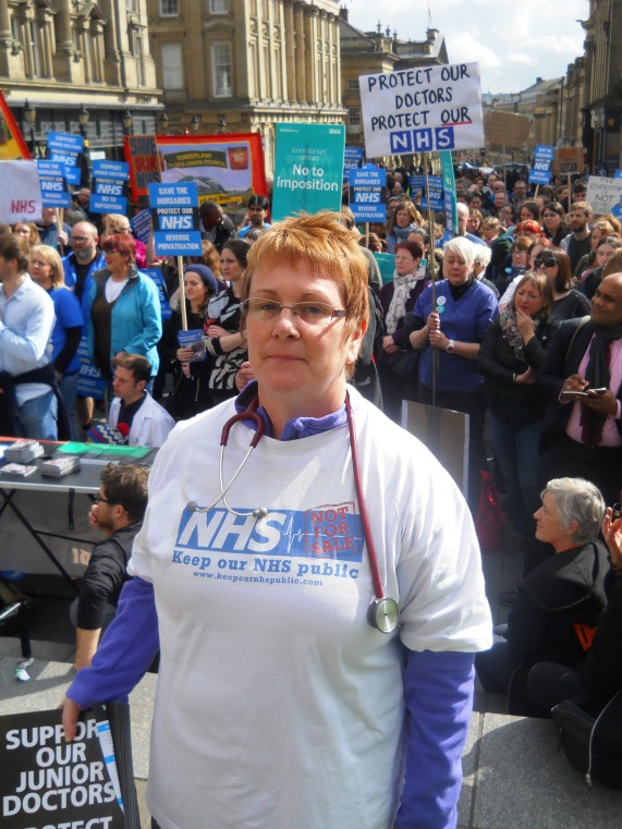 April 2016 NE March for the NHS 023