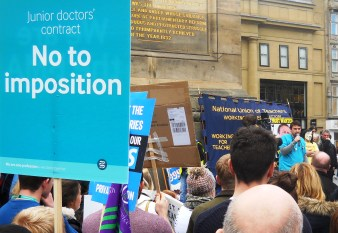 April 2016 NE March for the NHS 036
