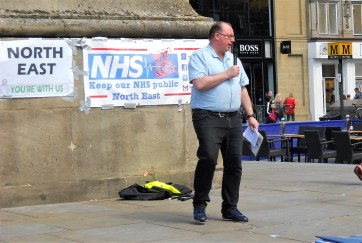 Tim Wall - Save North Tyneside NHS