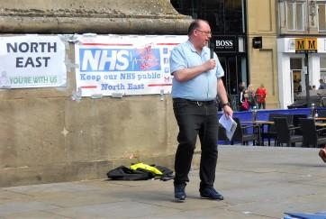 Tim Wall - Save North Tyneside NHS