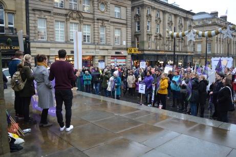 Jan 2016 NHS Student Nurses Rally 014