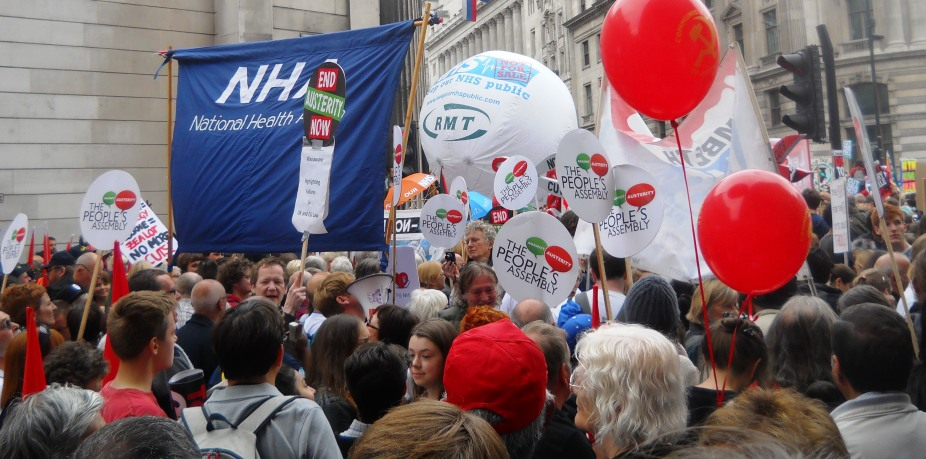June 2015 Peoples Assembly London March 001