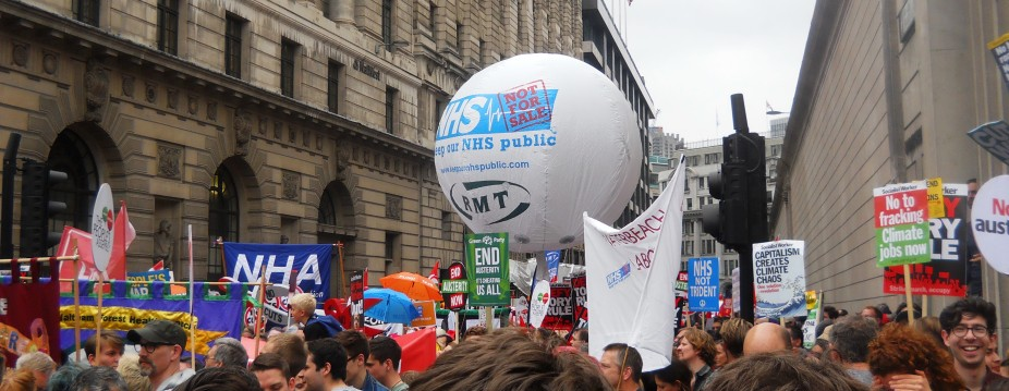 June 2015 Peoples Assembly London March 007