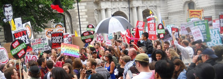 June 2015 Peoples Assembly London March 045