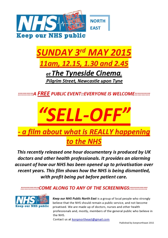 KONP Sell-Off film at The Tyneside-page0001