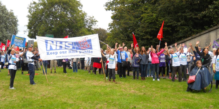 Peoples March for the NHS Day 1 013