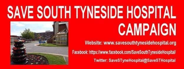 Save South Tyneside Hospital Campaign